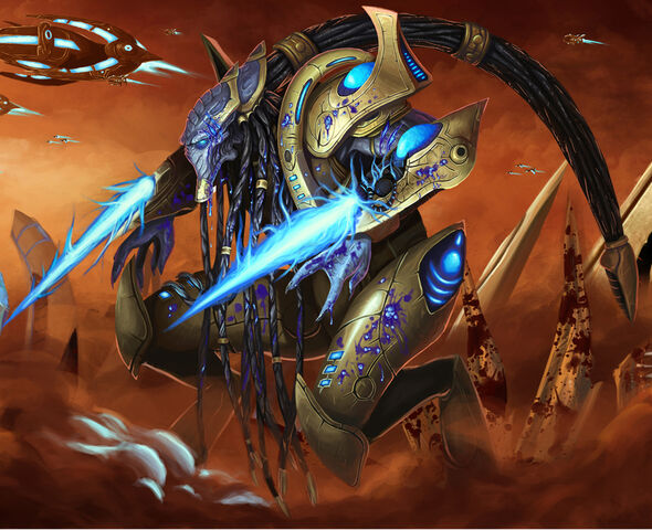 File:Injured protoss zealot by bugball.jpg