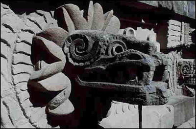 Large quetzalcoatl - 1995 James Lyon