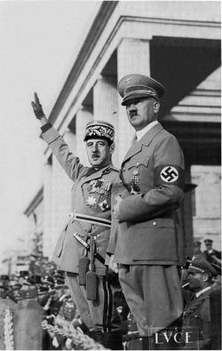 Hitler and de Gaulle (Pax Columbia)