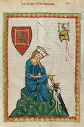 Codex Manesse Walther von der Vogelweide