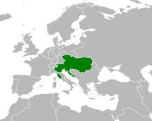 Austria Map 2 (Nat. 1848)