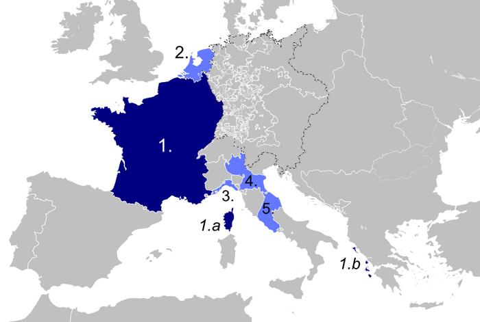French Client Republics (No Napoleon)