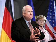McCain and Merkel