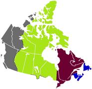 FTBW over OTL Canada (1950)