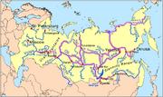 Siberiariverroutemap