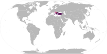 Byzantine Empire in the 1470s