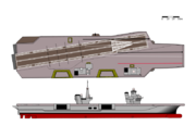 Design View - Dosbarth Cleddyf - Sword Class Aircraft Carrier