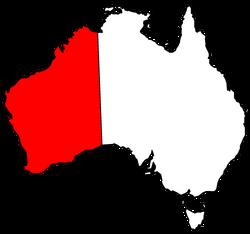 Westralia map