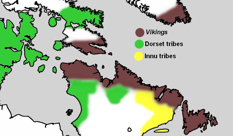 Map 1000 - 1032 (Leifsbudir)