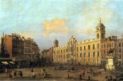 Northumberland House by Canaletto (1752)