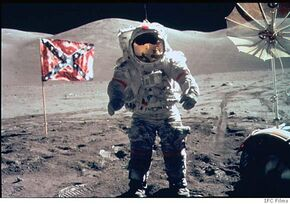 Confederates on the Moon
