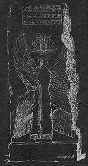German cyrus relief sketch