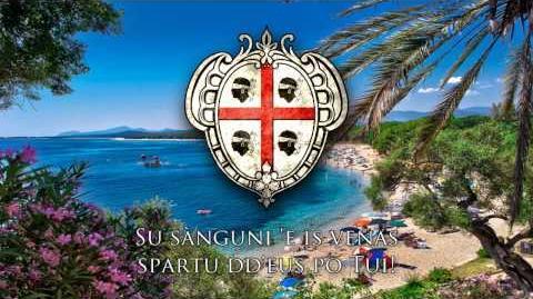 "National Anthem of Sardinia - ""Sardigna,Pàtria amada!"""