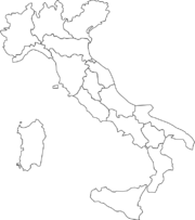 Italy States map