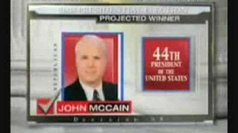 Media reports McCain victory