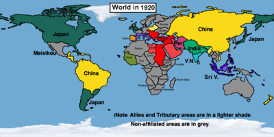 Easternized World in 1920