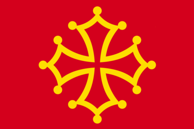 Flag of Occitania without star