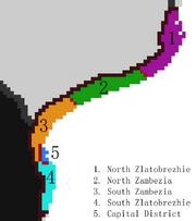 Zlatobrezhie Administrative divs