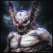 Bat creature by glaucolonghi-d6t5n0e
