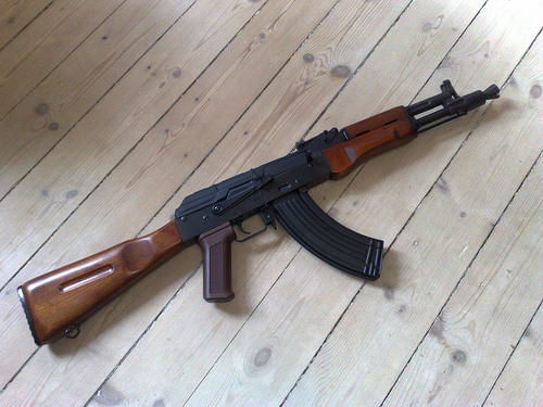 File:Arsenal SLR105 Ban Style, Wooden.jpg