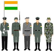 AvA India uniform pre-1966