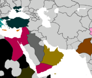 Middle east 1587