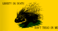 LibertarianPorupineGadsdenFlag