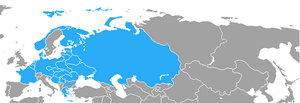 Map of CV Warsaw Pact countries