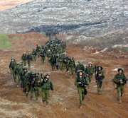 Israel soldiers in Lebanon