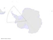 Map of Antarctica (Russian America)