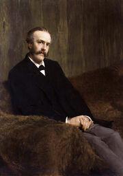 Arthur James Balfour, 1st Earl of Balfour by Sir Lawrence Alma-Tadema