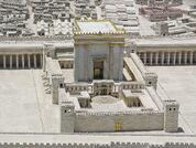 Model of Second Temple of Jerusalem