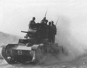 Republican Spanish Tank-1937