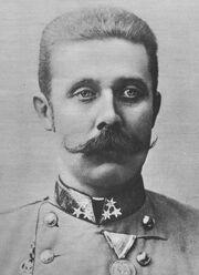 Archduke Franz Ferdinand of Austria - b&w