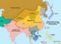 Map of Asia, 1900 (No Napoleon)