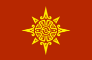 Flag of the Mexica Triple Alliance