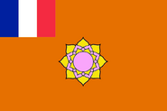 French India Alternative French Union Flag