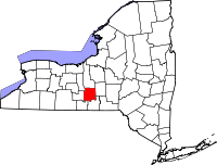 File:200px-Map of New York highlighting Tompkins County svg.png