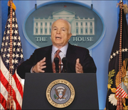 President McCain White House Press Conference