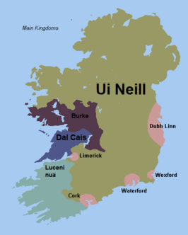 Ireland map 1281 kel