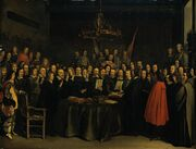 The Ratification of the Treaty of Munster, Gerard Ter Borch (1648)