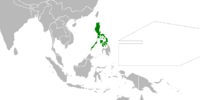 Philippines (Cherry, Plum, and Chrysanthemum)
