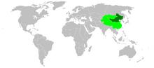 Qing map