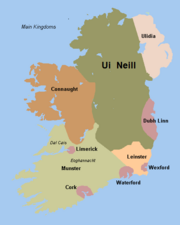 Ireland map 1180 kel