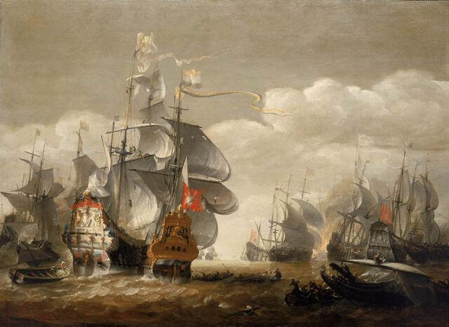 File:Van Minderhout Battle of Lowestoft.jpg