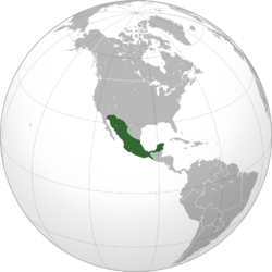 Mexico Orthographic DownDifPath