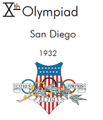 San Diego, 1932 Summer Olympics (Alternity)