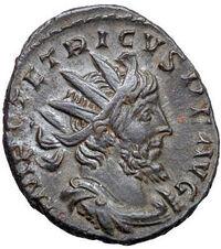 Tetricus 3rd century coin