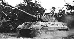 Latvian Offensive Tiger II
