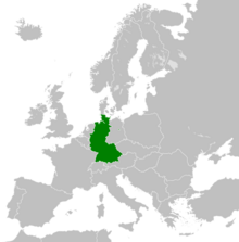 West Germany map